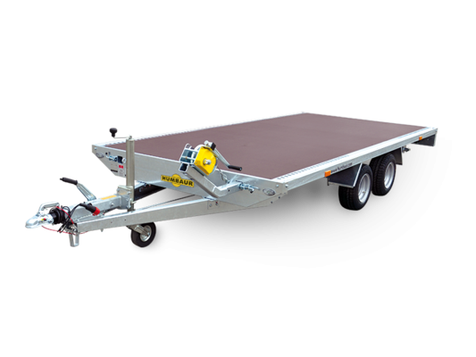 Humbaur Universal 3500 Holz - Universal Fahrzeugtransporter, Hochlader