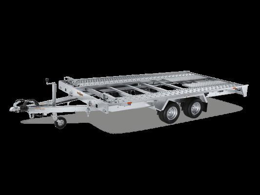 Humbaur FTK 274020 - Fahrzeugtransporter kippbar Tandem