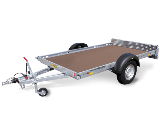 Humbaur KFT 1500 - Kleinfahrzeug-, Motorradtransporter, max. 3 Motorräder