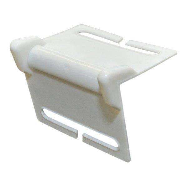 Kantenschutzwinkel mit Schlitz für 50mm Gurt, weiß