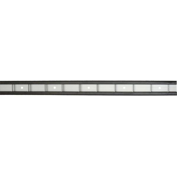 Stäbchen-Zurrschiene mit PVC-Schutz, L 3000 mm