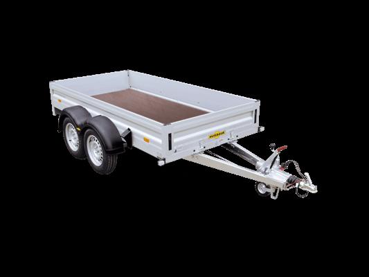 Humbaur HA 203015 - Tandem-Tieflader Aluminium HA