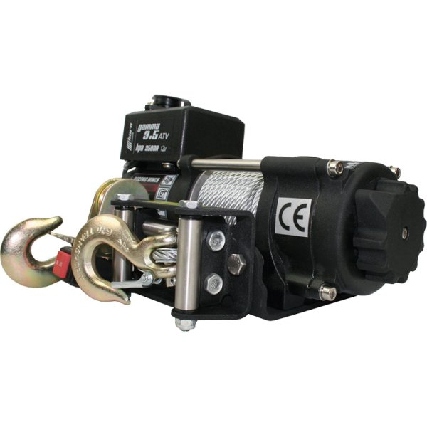 Seilwinde HPA3500ATV, 12V, Zugkraft 1580kg,