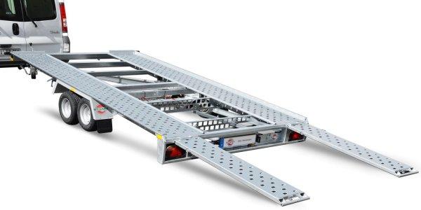 Stema ATOUR - ATH 27-40-21.2 - mit Auffahrschienen 155 cm Autotransporter