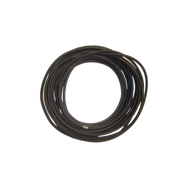 Expanderseil 6 mm, Gummi, schwarz Preis pro Meter