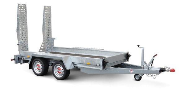 Stema Baumaschinentransporter BMAT O2 35-36-18.2 - mit V-Deichsel und Kugelkopfkupplung