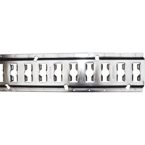Kombi-Ankerschiene Aluminium, 3048 x 131,5 x 3
