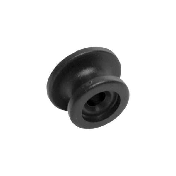 Rundknopf Kunststoff schw. für Expanderseil 6+8 mm