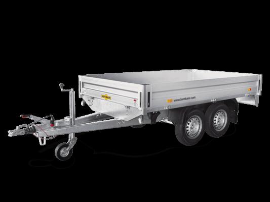Humbaur HT 203116 - Tandem-Hochlader Pkw Anhänger