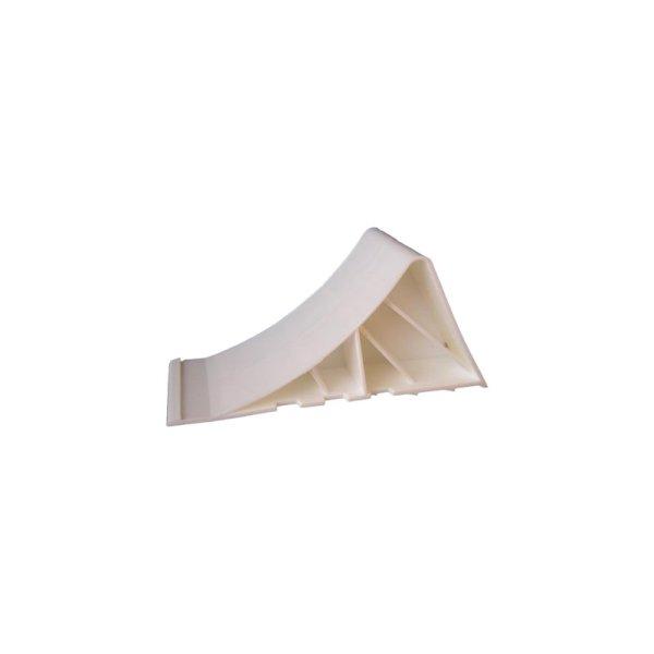 Unterlegkeil Kunststoff weiß ohne Halter