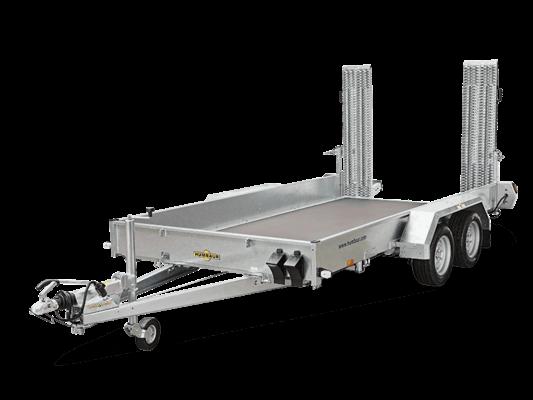 Humbaur HS 303016 / Tandemachser mit Stahl-Auffahrbohlen