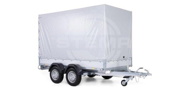 Stema ALU STL 2000 O2 20-30-15.2 - SySTEMA light-mit Plane grau und Spriegel 150 cm