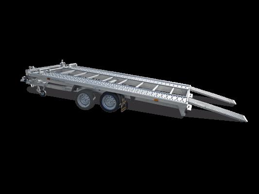 Humbaur MTK 304222 - MTK Fahrzeugtransporter Tandem kippbar