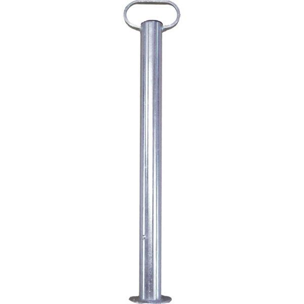 Schiebestütze m. Metallgriff, L 700 mm, 50 mm Ø