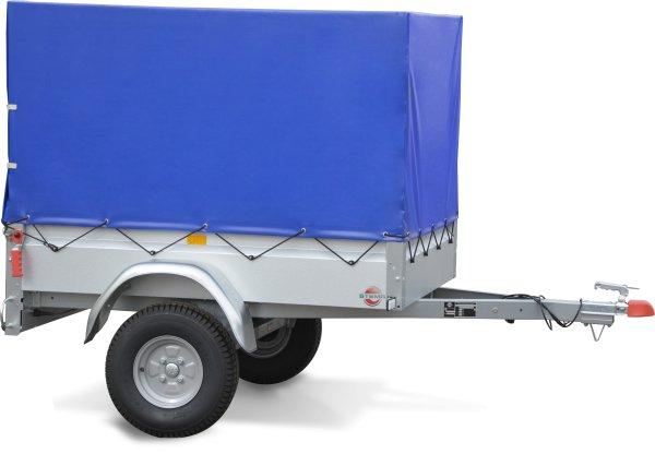 Stema BASIC 550 Pkw-Anhänger ungebremst - 550 kg Planenanhänger